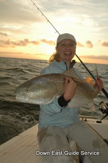 Red Drum in Neuse River